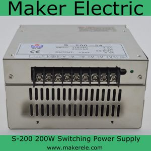 S-200 200w 24v switching power supply