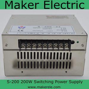 200w 5v S-200-5 switching mode power supply   YiWei