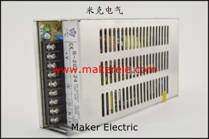 S-201 立面 what is ac power supply