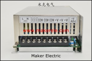 S-500 正面 power supply systems