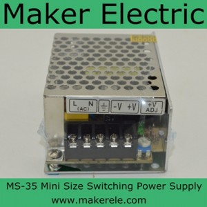 MS-35 Mini Size switching power supply