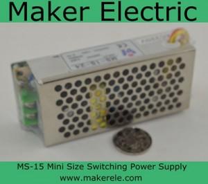 MS-15 Mini Size switching power supply