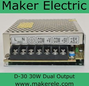 D-30 dual voltage switching power supply_