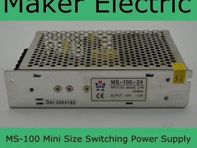MS-100 Mini Size switching power supply