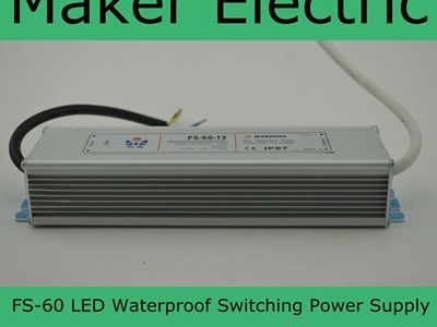 FS-60 SWITCHING POWER SUPPLY
