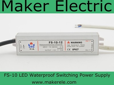 FS-10 led waterproof switching power supply