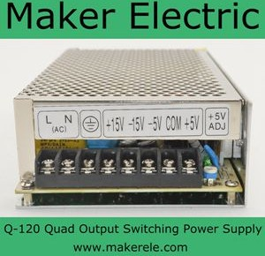Q-120 120w switching mode power supply