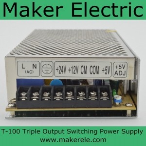 T-100 100w 12v switching power supply