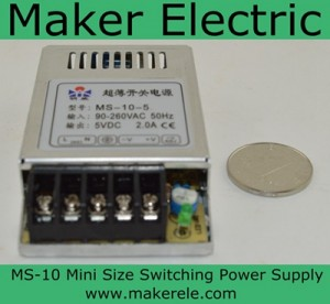 MS-10-12  Mini Size switching power supply