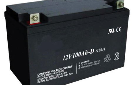 power supply with battery
