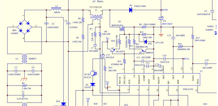 Superb The Function Of Switching Power Supply Pfc Circuit Mingwei Wiring Digital Resources Spoatbouhousnl