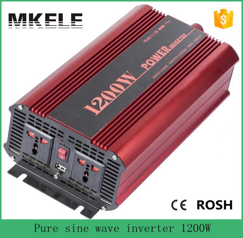 MKP1200-241R pure sine wave inverter 1200w 24vdc to 120vac