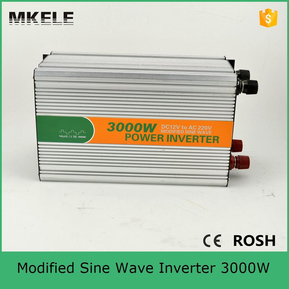 MKM3000-242G modified sine wave inverter 3000w 24vdc to 220vac ...