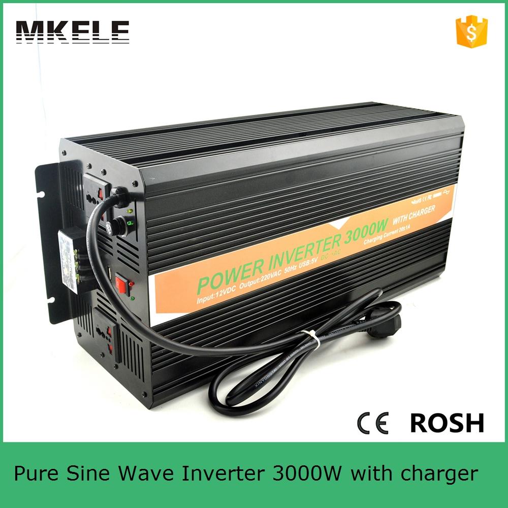 MKP3000-122B-C pure sine wave inverter 3000w 12vdc to 220vac with ...