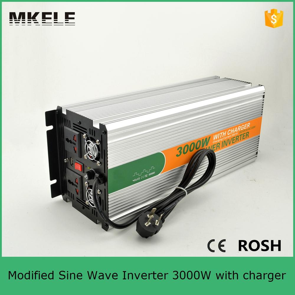 MKM3000-122G-C modified sine wave inverter 3000w 12vdc to 220vac ...